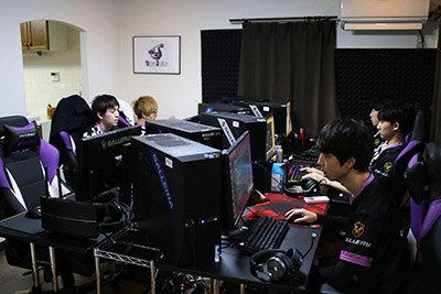 12時からチームメンバーで集まって練習を開始する(平常時の練習風景)
