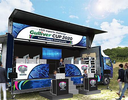 「ガリバーカップ 2020」応援イベントの開催イメージ