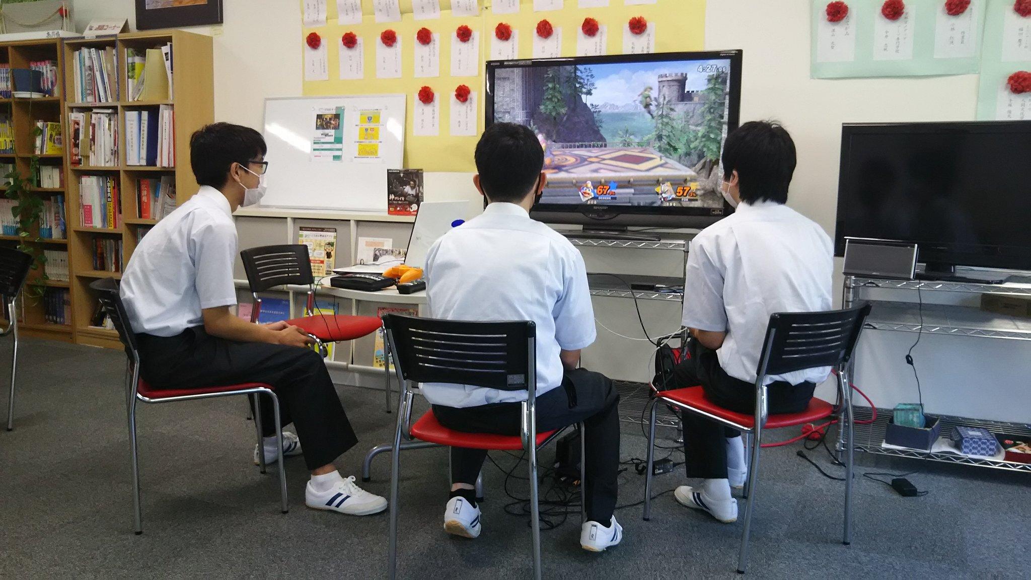 学校の部活としてゲームをやるからには真剣に取り組む姿勢だ